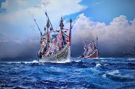 perahu slerek muncar kota ikan