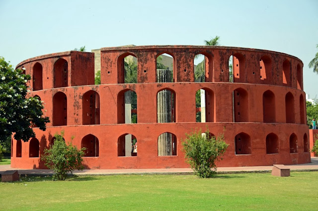 Outer screen view of jantar mantar new delhi