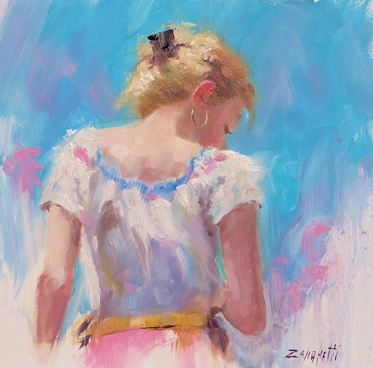 Laura Lee Zanghetti | Figurative Impressionist painter