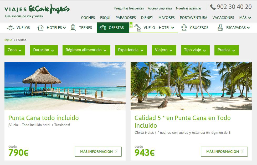 Oferta De Viagens Oferta De Viagens: Mejores Webs Con Ofertas 2x1 Viajes