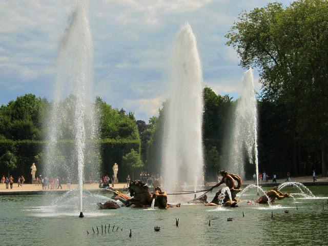 Apollo-fontänen i Versailles