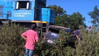 Tragedia en San Lorenzo por un accidente en Paso a Nivel