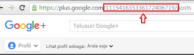 ID google Plus