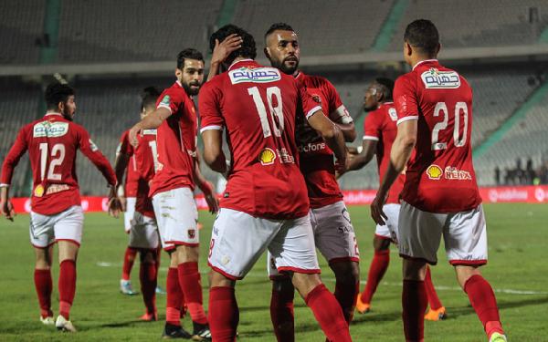 الاهلي المصري يحقق اول 3 نقاط له بدوري ابطال افريقيا