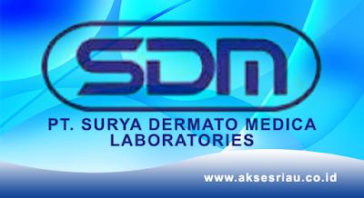 Lowongan PT. Surya Dermato Medica Laboratories Pekanbaru Oktober 2017