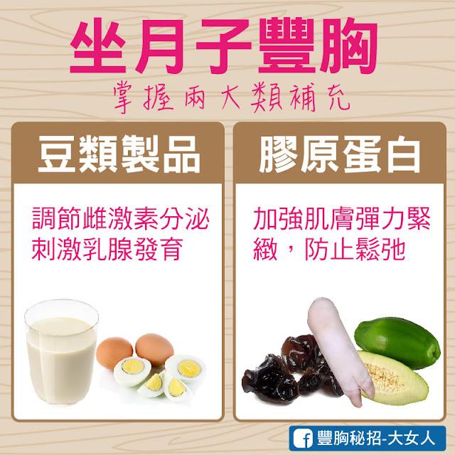 產後豐胸,坐月子補充兩大營養:豆類食物、膠原蛋白食物