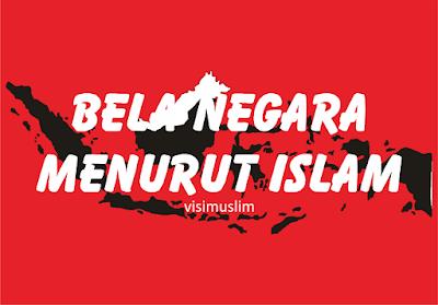 Hasil gambar untuk bela negara menurut islam
