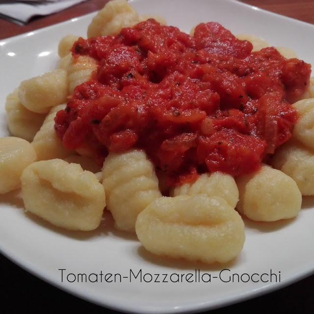 [Food] Tomaten-Mozzarella-Gnocchi