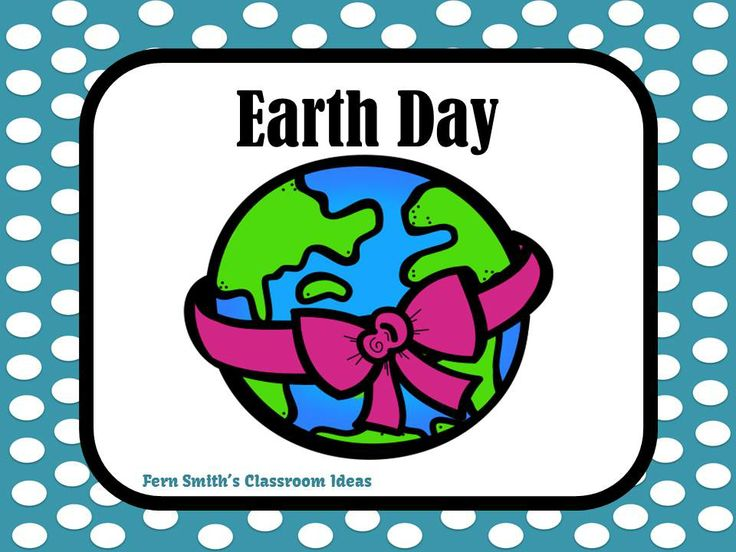 Fern Smith's Classroom Ideas Earth Day Teaching Resources at TeachersPayTeachers and Pinterest Earth Day Board.
