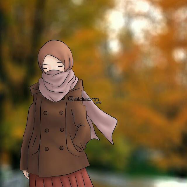 Kumpulan Gambar Anime Muslimah Cantik dan Keren