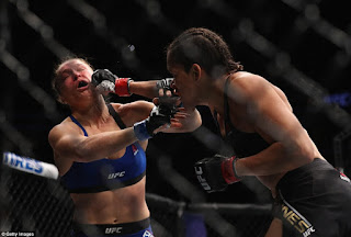 Ronda Rousey is beaten by Amanda Nunes in UFC comeback