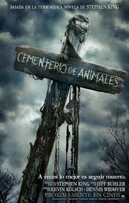 CEMENTERIO DE ANIMALES - Cartel españa