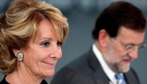 Aguirre y Rajoy