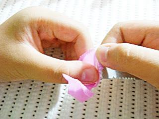 Kerajinan Tangan Dari Sedotan - Bunga (9)