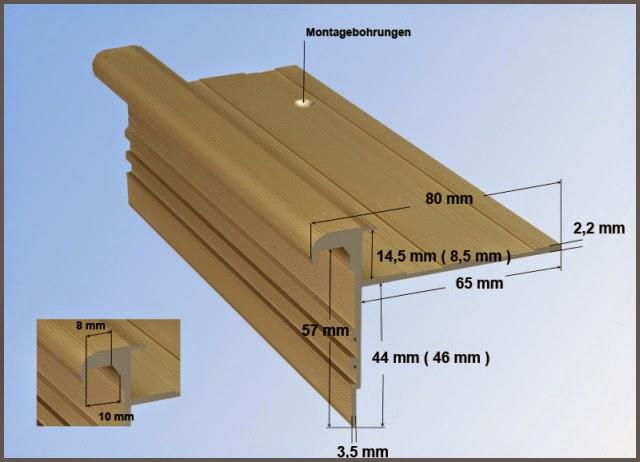 Treppenkantenprofil - HK-Standard
