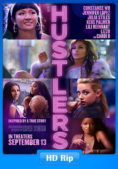 Hustlers 2019 720p WEBRip x264 | 480p 300MB | 100MB HEVC