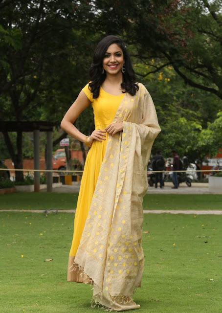 Ritu Varma in Designer Churidar Salwar