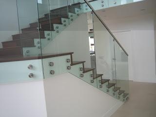 Jual Railing Tangga Kaca Minimalis Jombang Balkon Per Meter