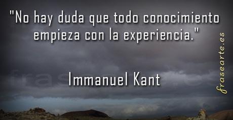 Citas para la vida - Immanuel Kant