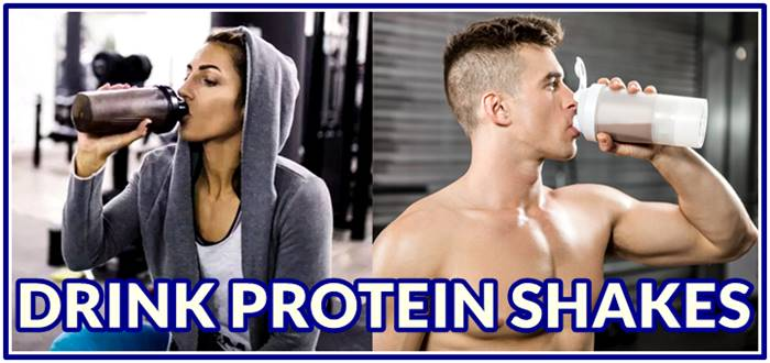 Benefits of drinking protein shakes