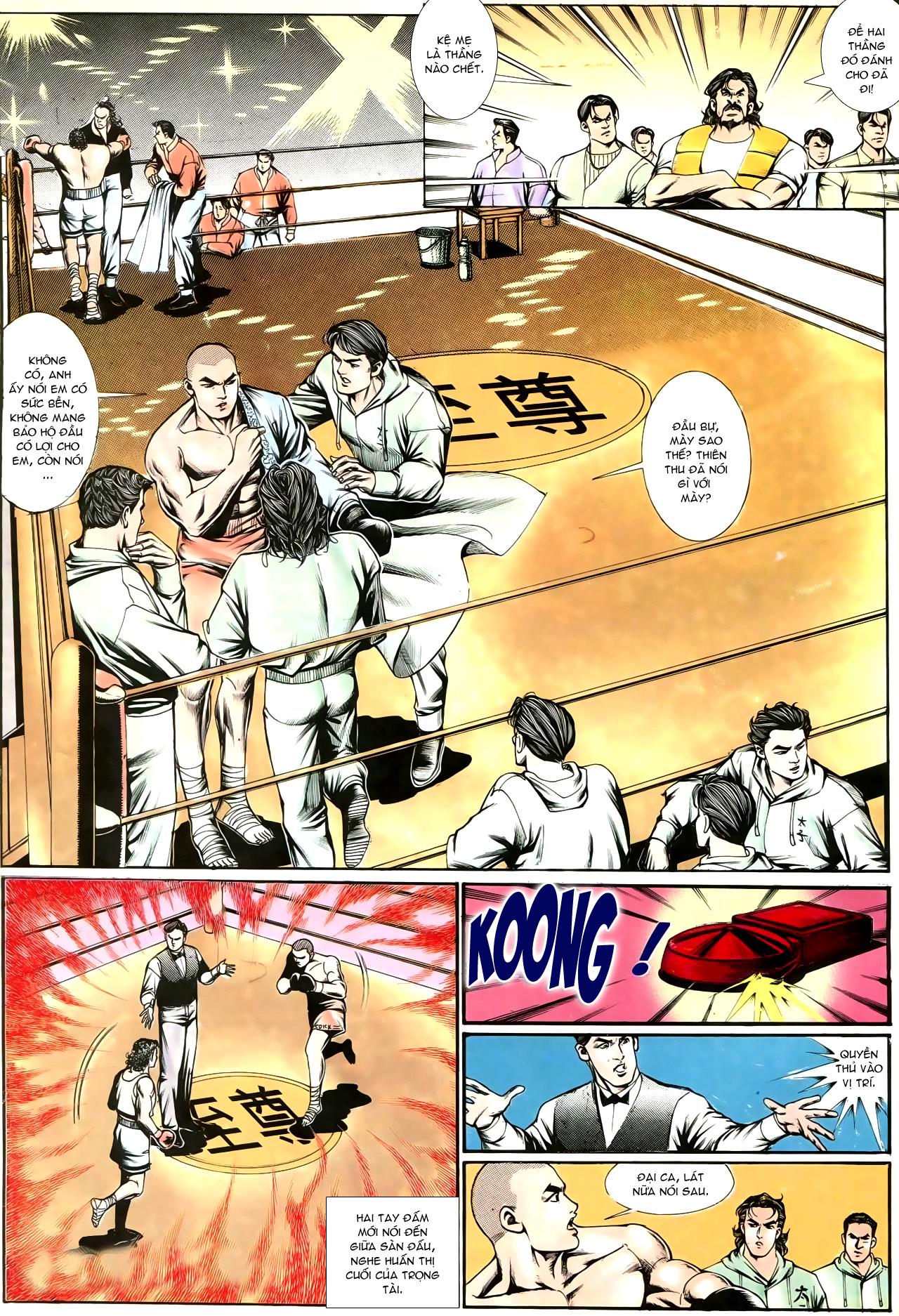 Người Trong Giang Hồ chapter 195: sóng gió ngút trời trang 5