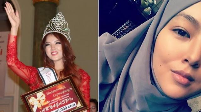 Lantaran Masuk Islam Dan Hapus Foto Umbar Aurat, Ratu Kecantikan Krigistan Ini Dihujat Para Fans