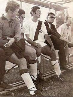 In panchina, con Vavassori e Fabbri.