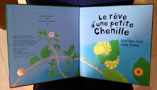 Le rêve d'une petite chenille Editions GRÜND
