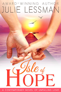 "The Artist Librarian's Waiting on Wednesday is Julie Lessman's first full length Contemporary Christian romance, ""Isle of Hope."""