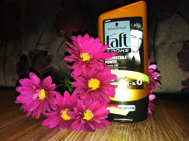 Taft - irresistible power - czyli słynny, złoty żel taft dla fal i loków