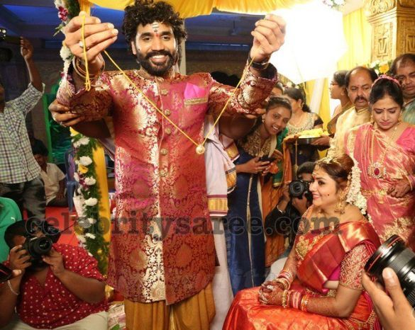 Actress Namitha Veera Wedding5