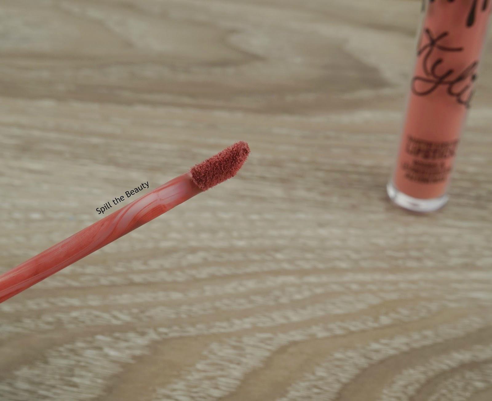 kylie cosmetics matte liquid lipstick posie k swatches comparison dupe colourpop dose of colors wet n wild