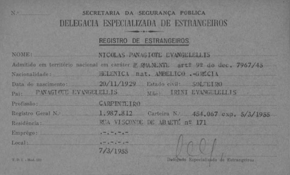 UPDATE - 5,772 Born in Greece - Brazil, Sao Paulo ...