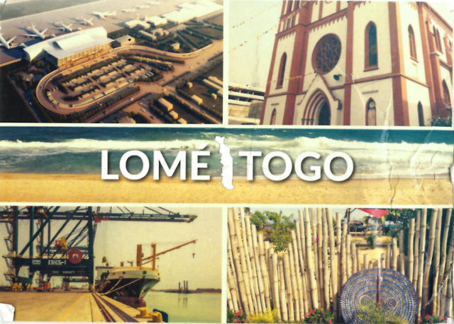 View Postcard from Togo