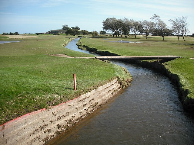 Barry Burn at Carnoustie golf course