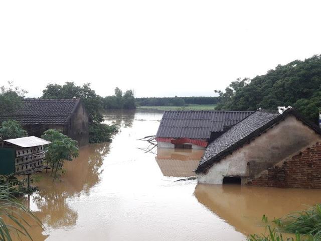 Toàn cảnh lũ lụt tại Ninh Bình và hoạt động cứu trợ tại Thanh Hoá - Ảnh minh hoạ 21