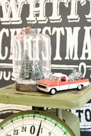 Bottle brush ornaments, dollar tree, Christmas