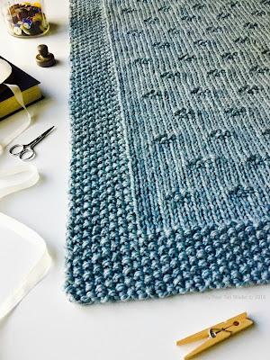 Fifty Four Ten Studio Chunky Blanket Knitting Pattern Across The