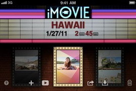 iMovie for iPhone 4 / iPad 2 updated to v1.2, adds AirPlay support for sharing to Apple TV