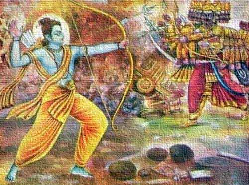 Final Battle Between Lord Rama and Ravana