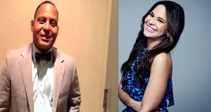 Mariela Encarnación y Tony Dandrades en la Alfombra Roja