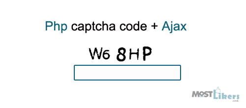 Php contact form captcha code using Ajax