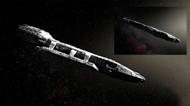 Oumuamua parece ser una nave alienígena-TuParadaDigital