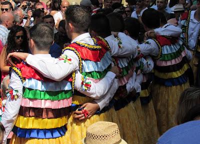 Fiesta de los Danzadores de Anguiano. La Rioja