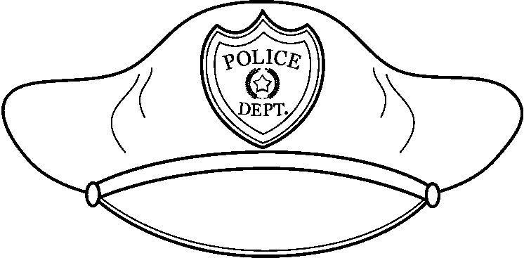 Imagen De Placa De Policia Para Colorear Imagui
