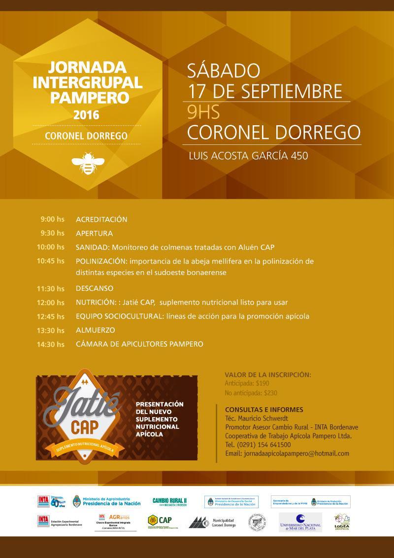 JORNADA INTERGRUPAL PAMPERO 2016