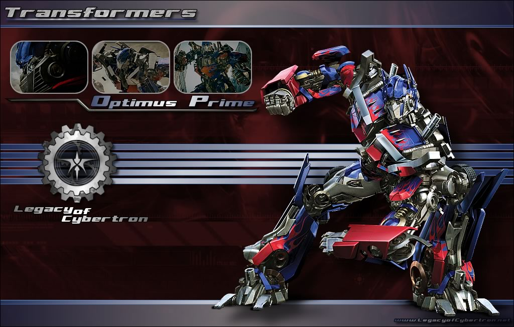 Arts Center: Transformers Wallpaper (NEW)