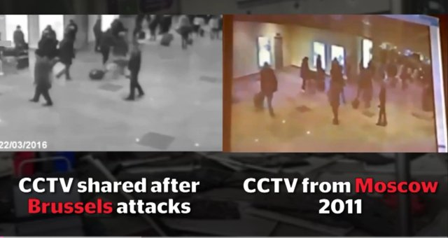 Brussels Attacks Video Purporting To Show Zaventem Airport Explosion Was Shot in 2011