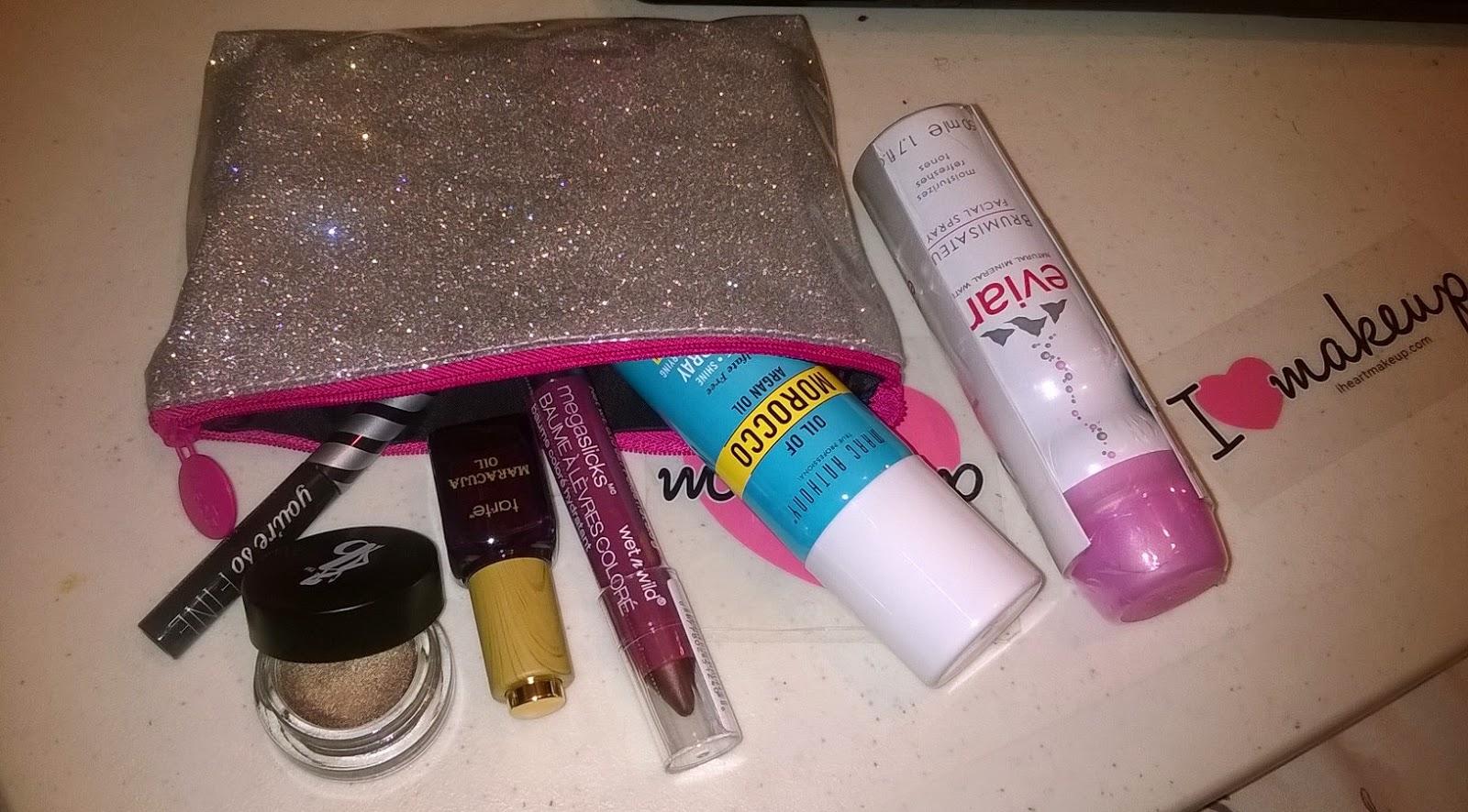 Ipsy Glam Bag November 2014 Review