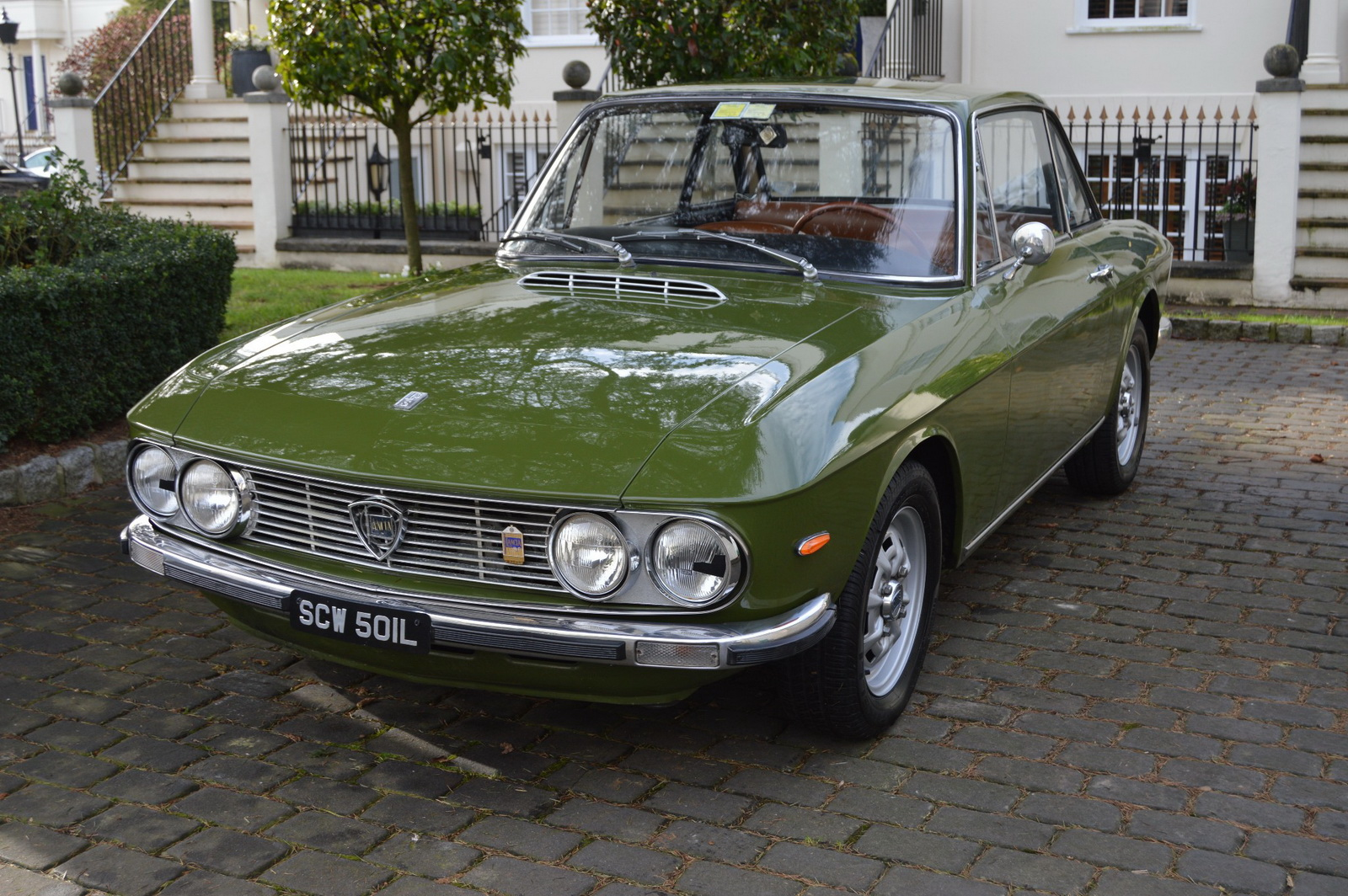 mamma mia a perfect green lancia fulvia is now offered in auction. Black Bedroom Furniture Sets. Home Design Ideas